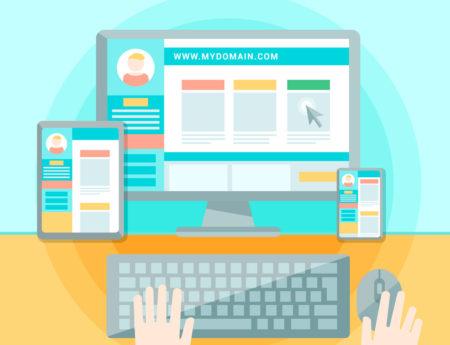 O que é importante no design de sites?